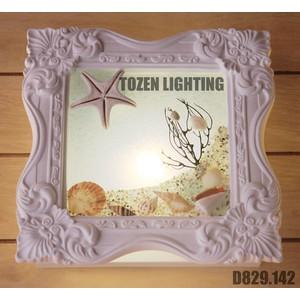 Lampu Dinding Kapur/Gypsum D829-142
