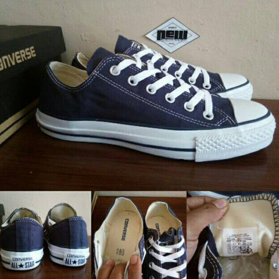 Sepatu Converse CT All Star Basic Dress Navy Blue Biru Dongker High -  Original PRRMIUM Vietnam  3c3a22df8a