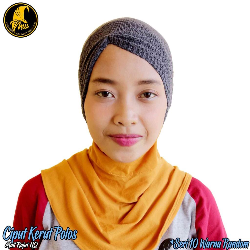 Inner Ciput Rajut List 1 Murah 6rban Saja Shopee Indonesia Ter Brukat Cantik Dalaman Jilbab Kekinian