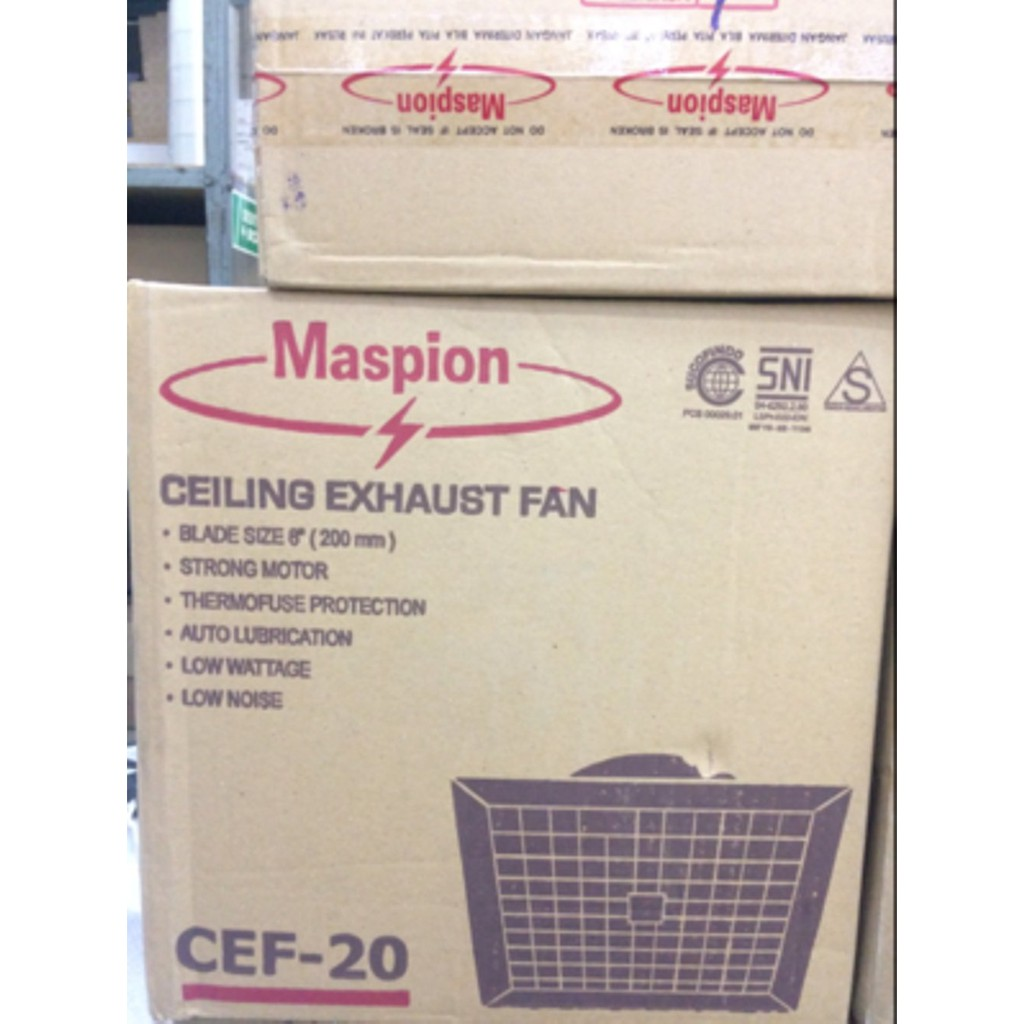 Maspion Mv 300 Nex Exhaust Fan 12 Kipas Hexos Shopee Indonesia Motor 300nex Di Lapak Suma