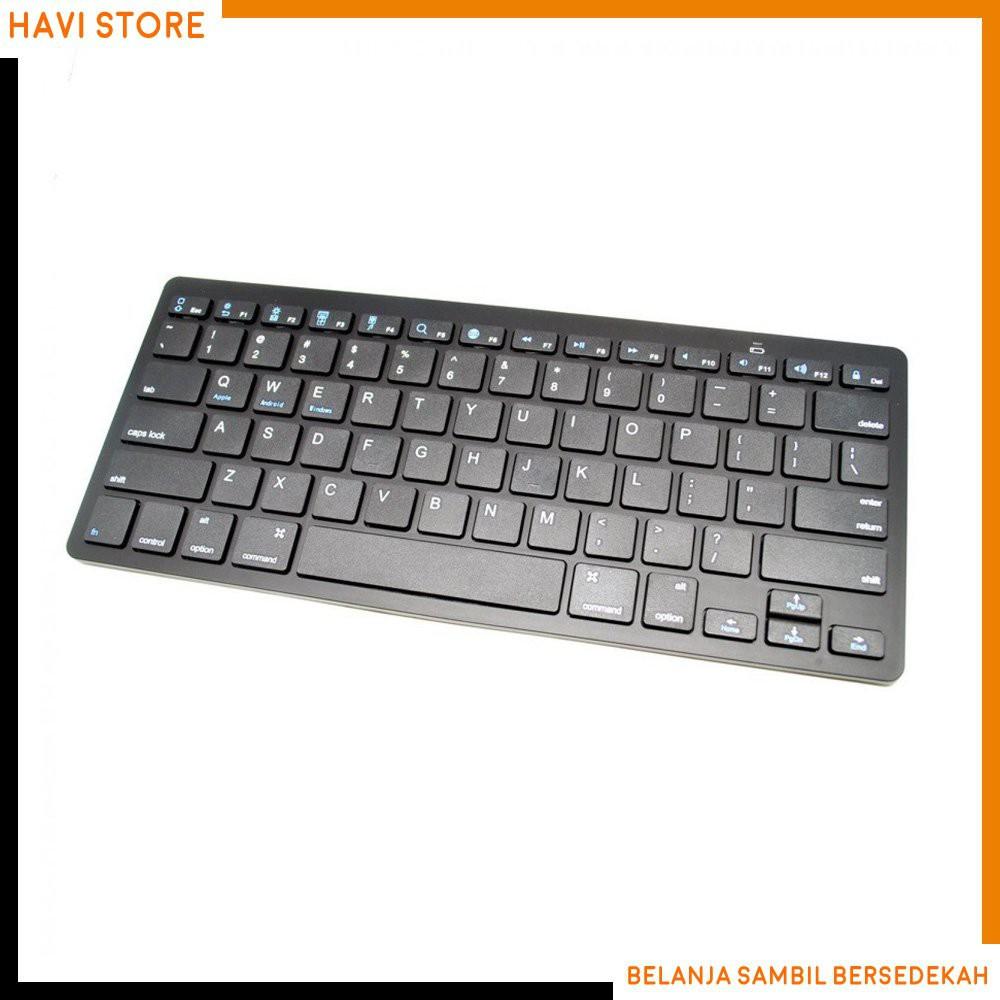 Keyboard Wireless Bluetooth Terbaik Shopee Indonesia