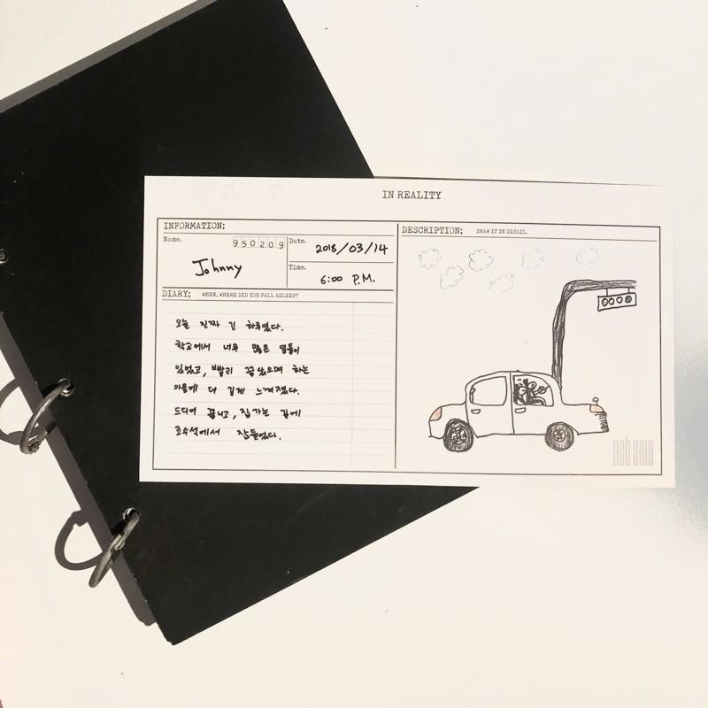 NCT 2018 Empathy Album Diary — Johnny