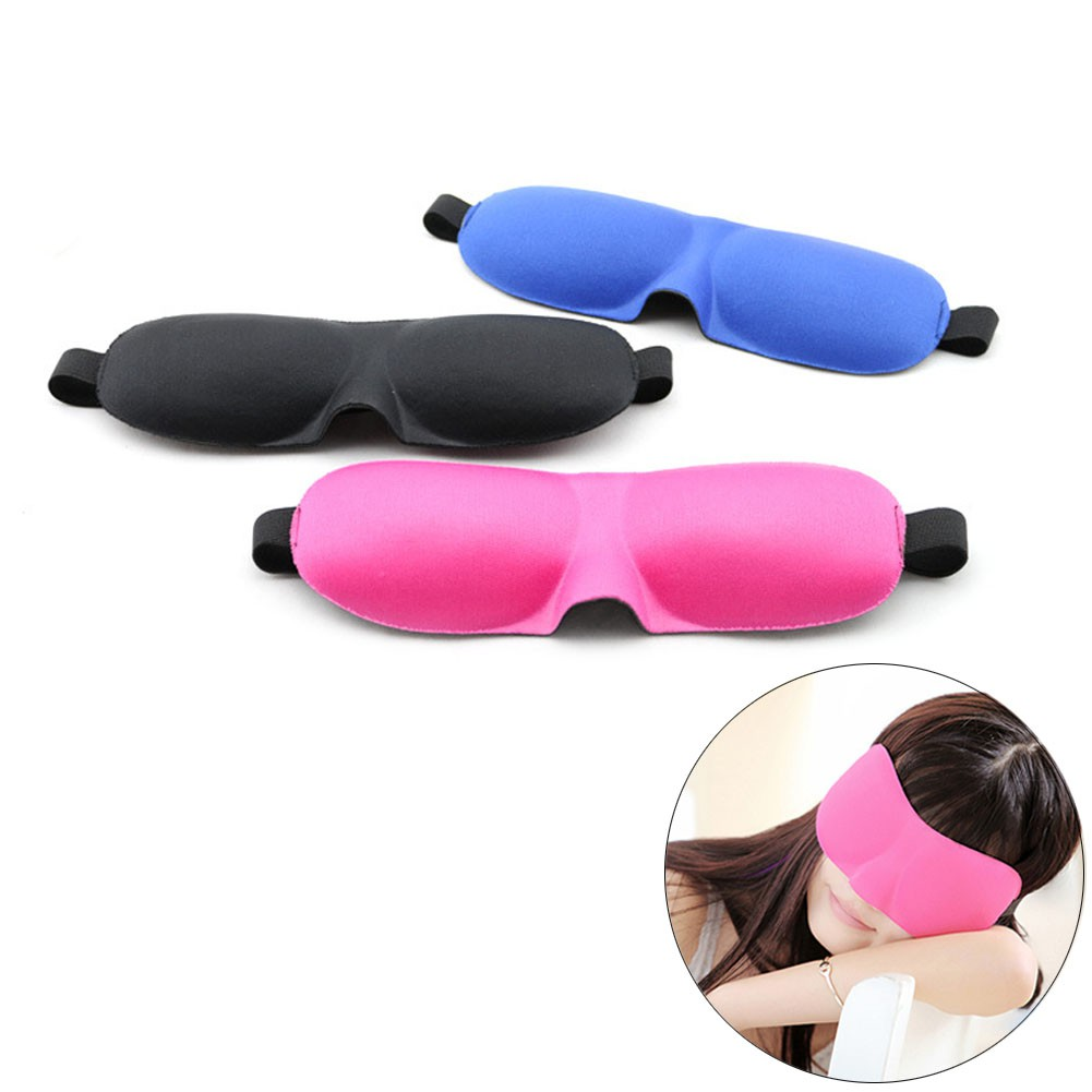 Penutup Mata Kacamata Tidur Shopee Indonesia Masker Untuk 3d