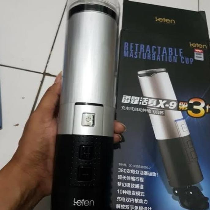 leten x9 terapi kesehatan mastubator pria telescopic modern cup