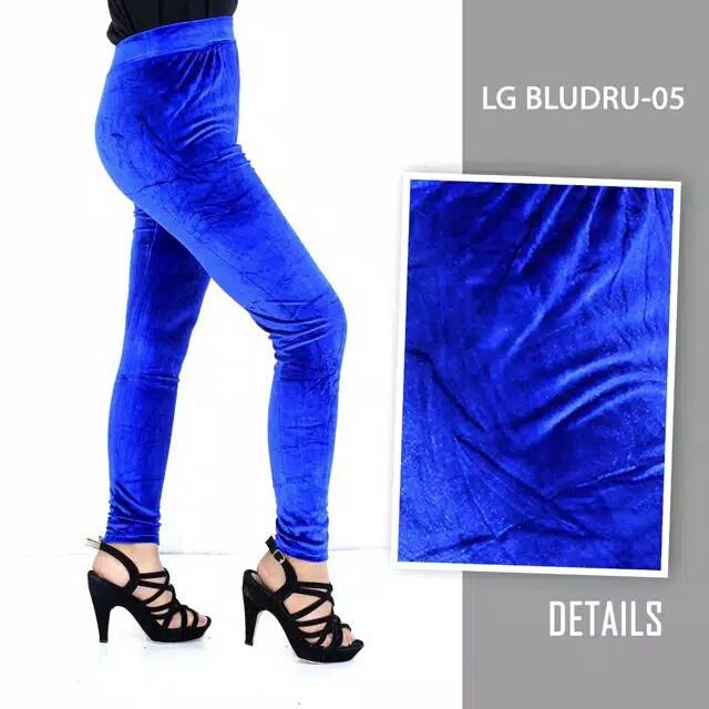 Celana Bahan Legging Velvet Celana Bahan Bludru Import Shopee Indonesia