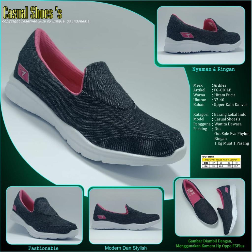 Ardiles Sepatu Pria Running Kasai Hitam 39 44 Shopee Indonesia Estelle Women Shoes