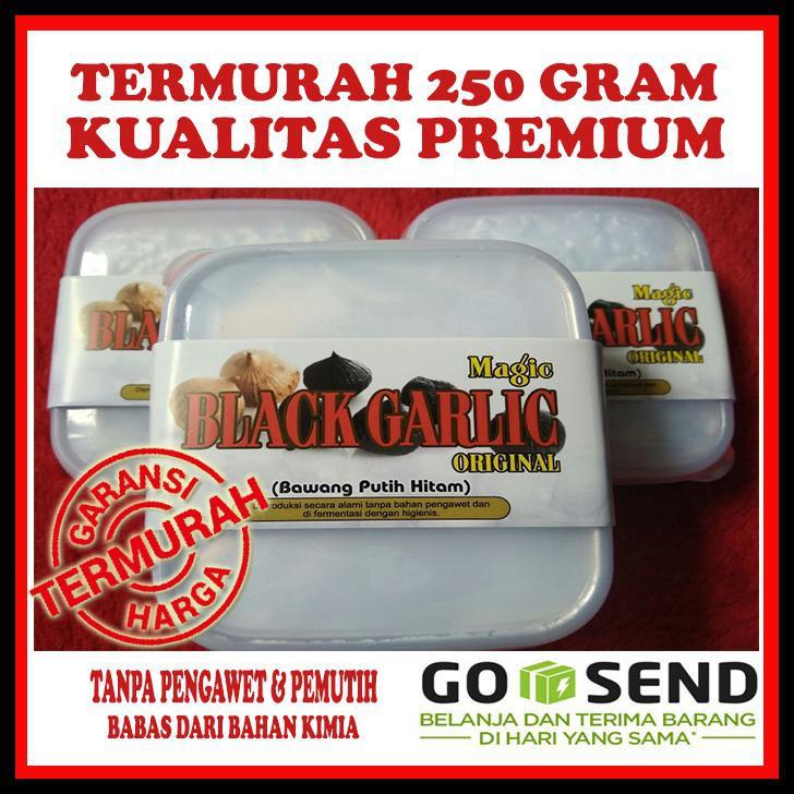 BAWANG PUTIH HITAM TUNGGAL 250 GR -BAWANG HITAM LANANG -BLACK GARLIC   Shopee Indonesia