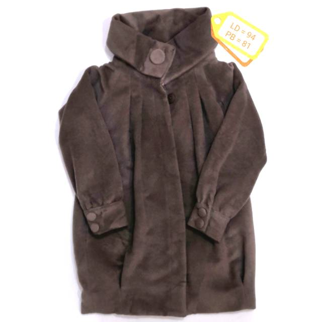 [LAST STOCK] Sale Coat Wool Wanita LD 94 Preloved Jepang/Korea Thrift Store Branded Winter