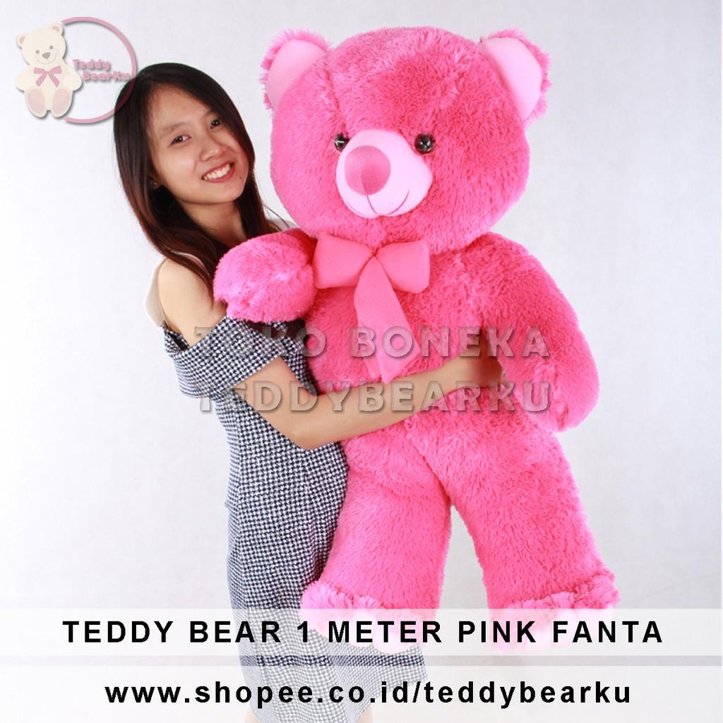Boneka Teddy Bear FLUFFY SYAL 1 2f97107699