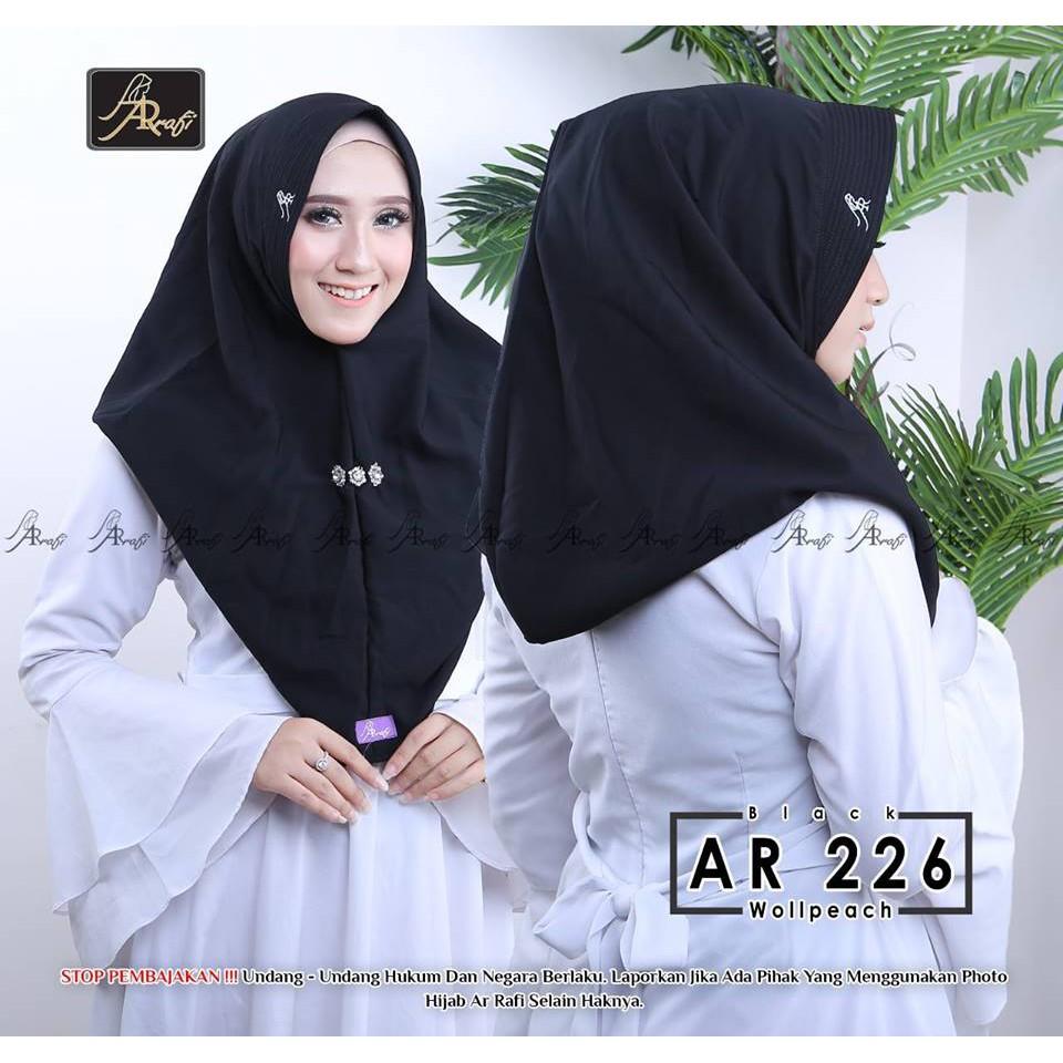 Hijab Ar Rafi AR 163 Hijab Instan Kekinian Hijab Murah Terbaru
