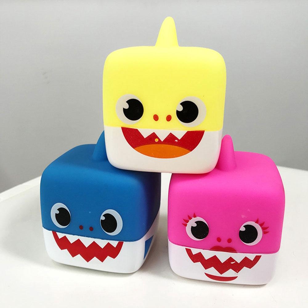 2019 LED Light Baby Shark Singing Music Toys English Song Toy Baby Plush Toys