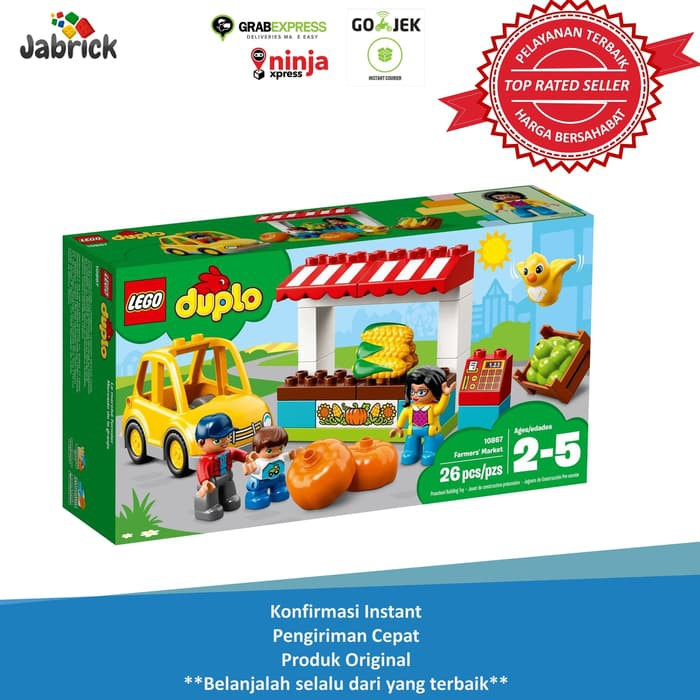 Promo Murah Lego 10867 Duplo Farmers Market Diskon Shopee Indonesia
