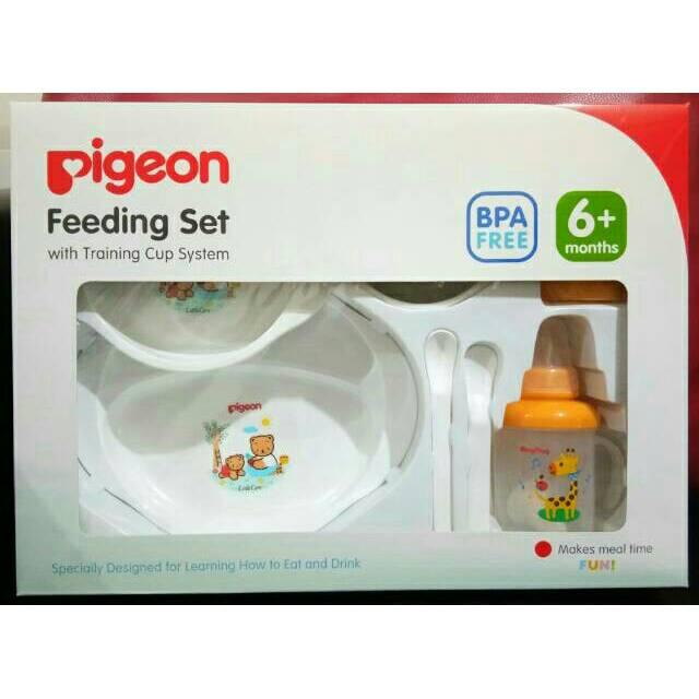 [TOKU] feeding set besar / pigeon feeding set with training cup | Shopee Indonesia
