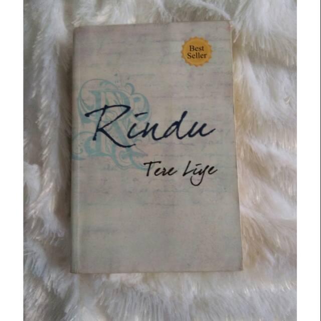 Novel tere liye RINDU original penerbit republika ...