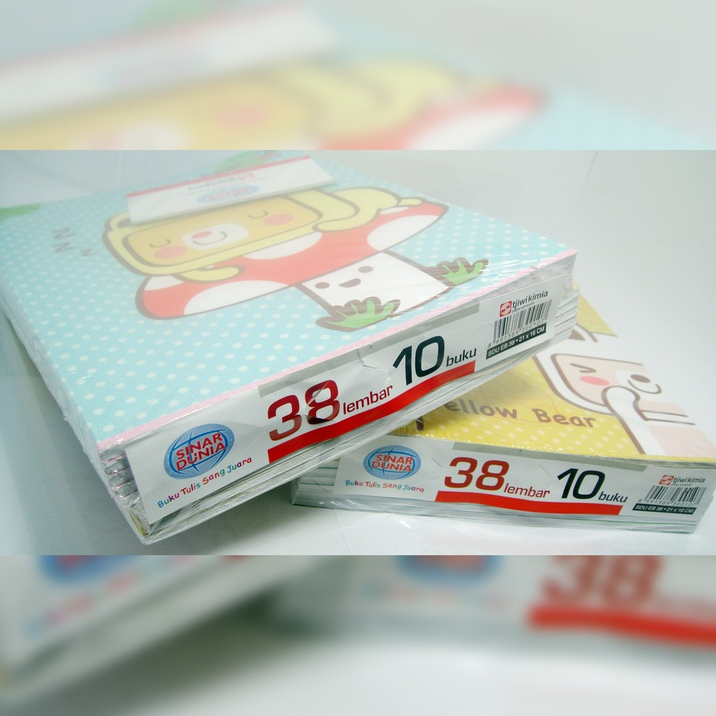Buku Tulis Sinar Dunia Sidu 10x38 Lembar Shopee Indonesia Polio Bergaris Doble Folio 200 Lbr