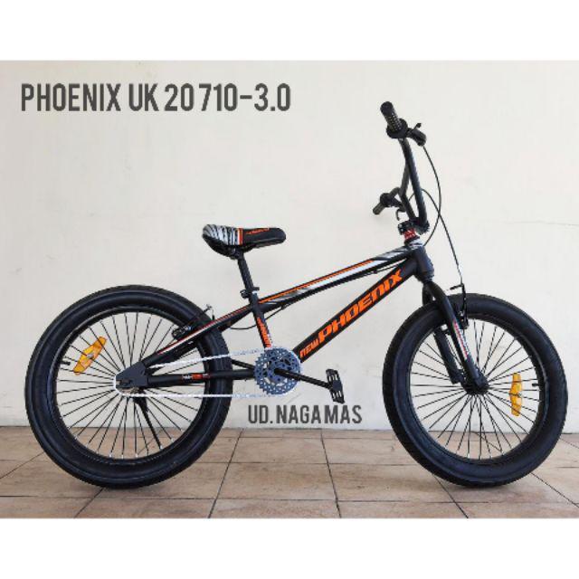 Sepeda Bmx Phoenix Uk 20 710 3 0 Shopee Indonesia