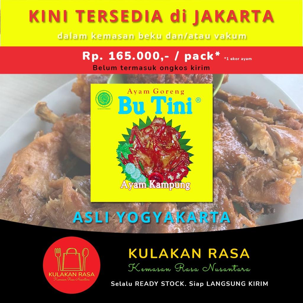 Ayam Goreng Bu Tini ayam kampung asli Jogja