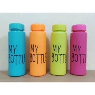 My Bottle WARNA CERIA 500 ML BPA FREE / Botol Minum MyBottle Infused Water Tidak Pecah
