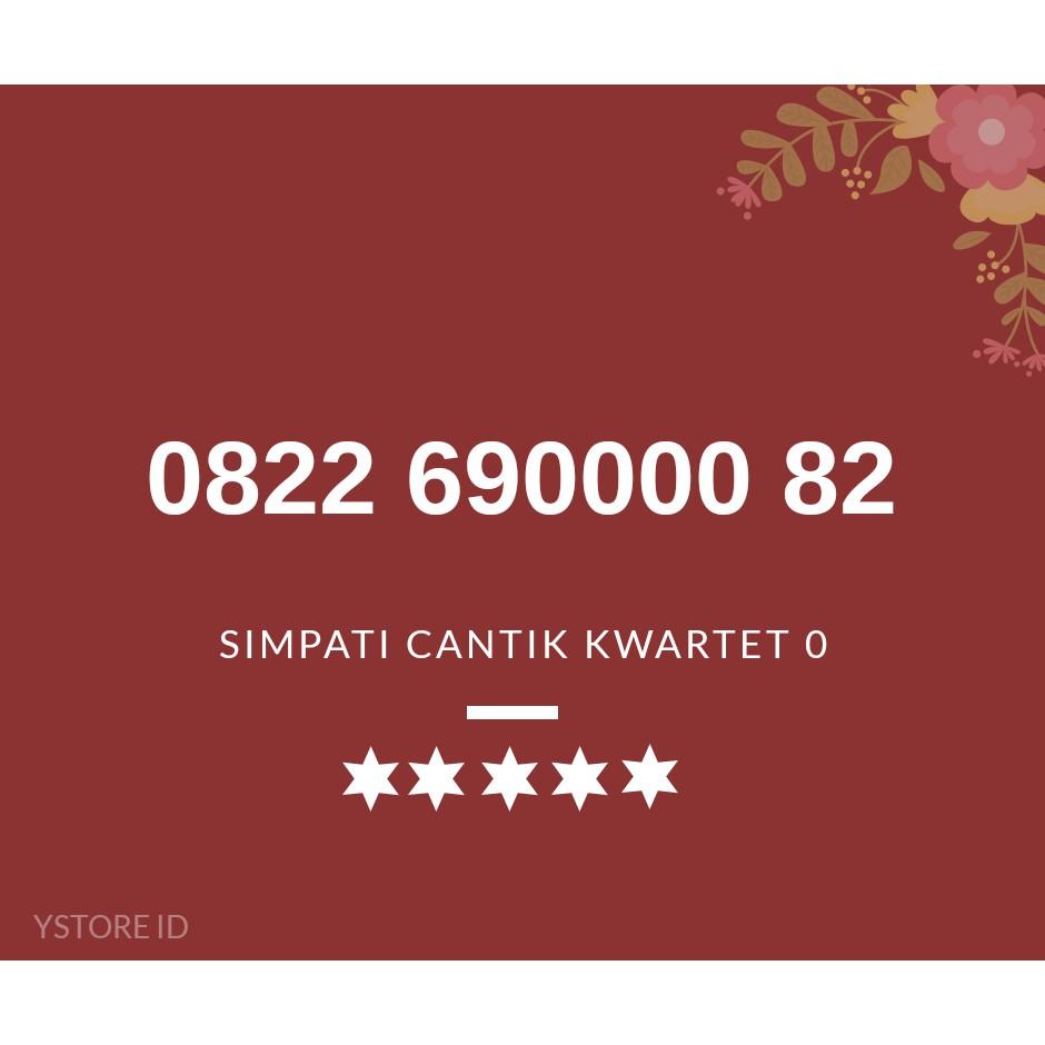 NOMOR CANTIK SIMPATI LOOP KARTU PERDANA TELKOMSEL 4G NOMER SERI 0822 680000 xx   Shopee Indonesia