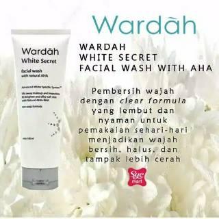 Facial Foum Wardah White Secret 100 ml 100%ORIGINAL thumbnail