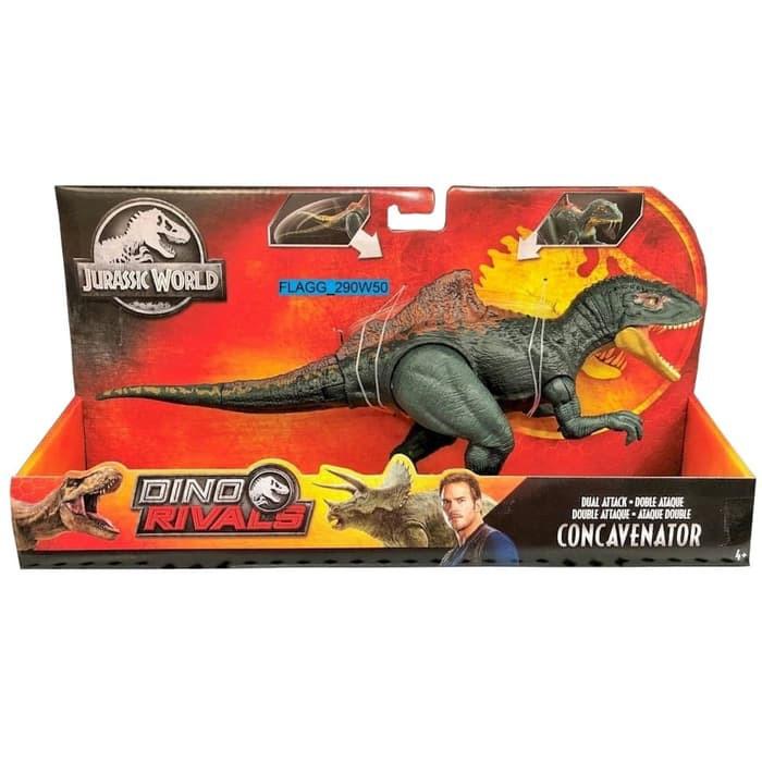 Jurassic World Park Dino Rivals Dual Attack QUETZALCOATLUS Dinosaur Figure RARE!