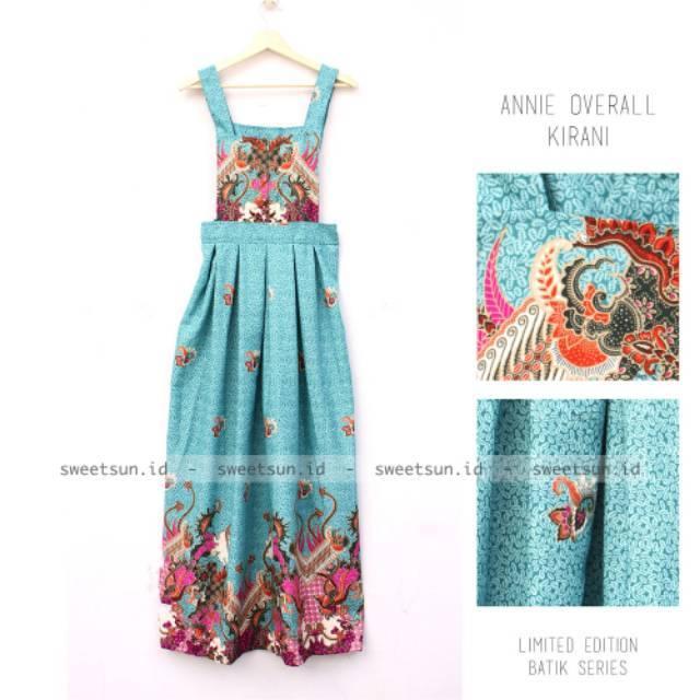 Annie Overall Batik Series Super Limited Edition