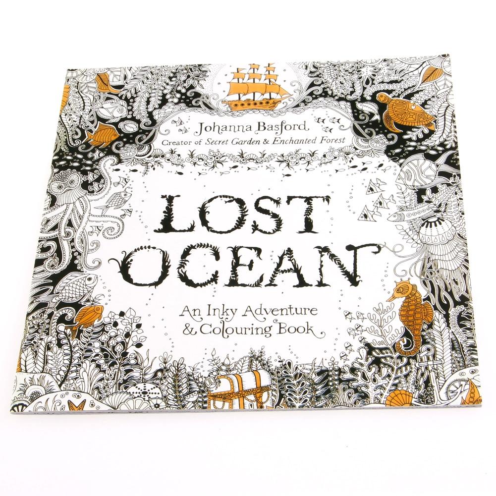 Buku Mewarnai Gambar Graffiti Ocean Untuk Anak Dewasa