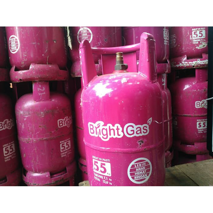 Tabung Bright Gas 5 5 Kg Shopee Indonesia
