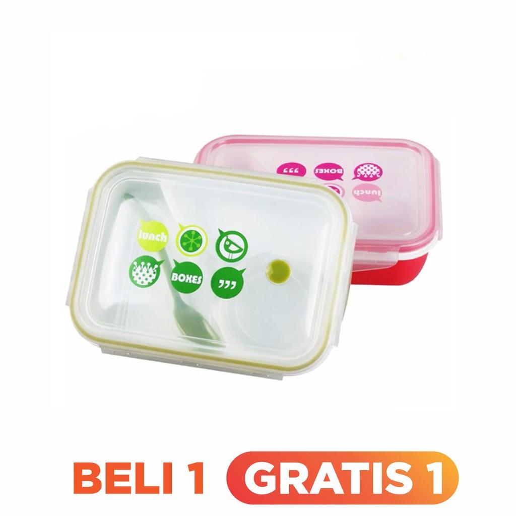 Tempat Soup Yooyee 602 Thermal Lunch Bowl Rantang Box Leakproof Lunchbox Mini 605 Kotak Makan 4 Sekat Anti Tumpah Biru Muda Shopee Indonesia
