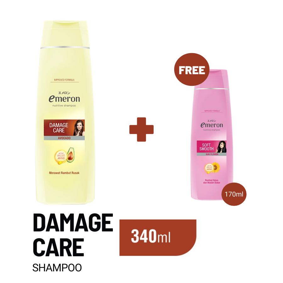 Emeron Shampoo Damage Control Botol 340ml