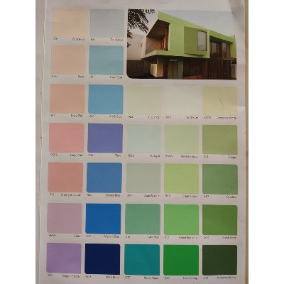 Jual Cat Tembok Vinilex 5 Kg Warna Putih Pink Biru Hijau Cream