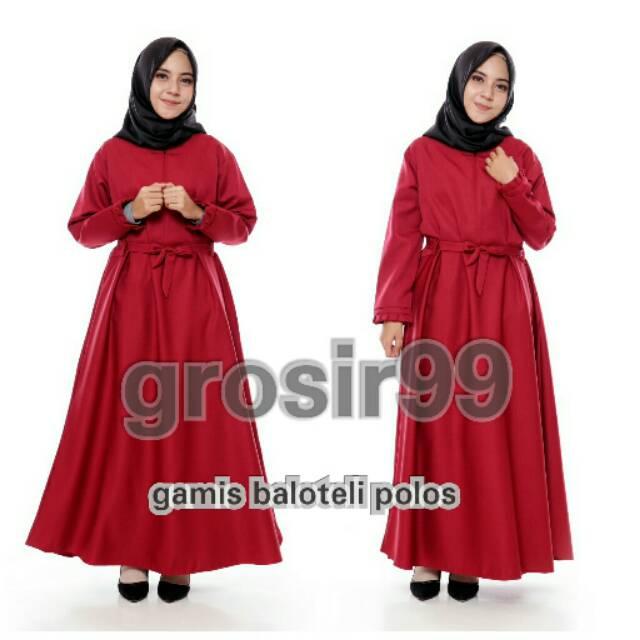 Casual muslim dress brukat baju anak baju promo gamis promo gamis  murah murah wanita bogor jatim  76a9328fa5