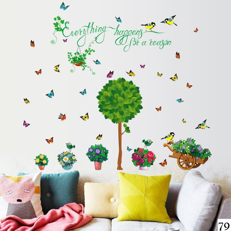 Wallsticker / Wallstiker / Wall Stiker / Stiker Dinding 152 Pooh Family | Shopee Indonesia