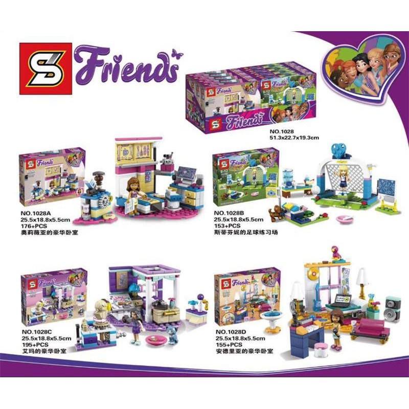 Mainan Lego Friends 1028   Shopee Indonesia