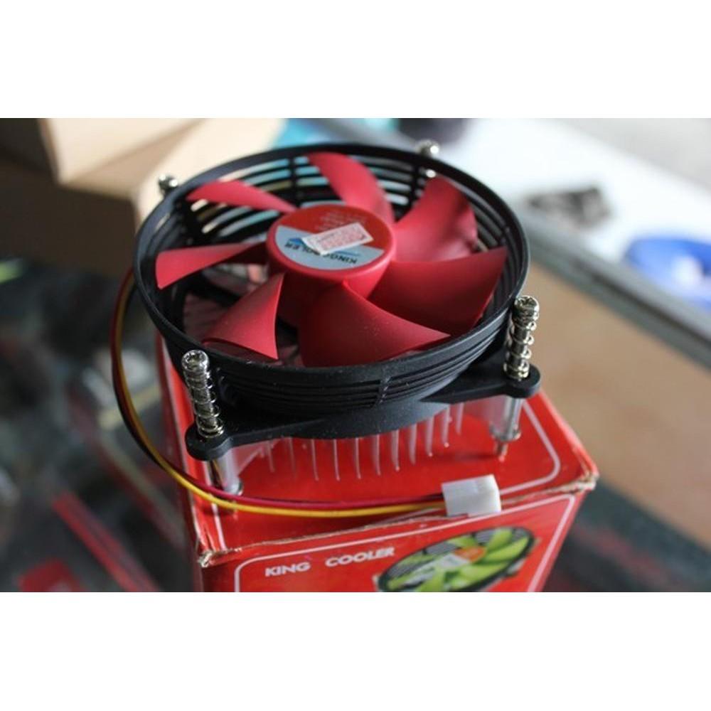Kipas Fan Processor Heatsink Cpu Cooler Scorpion King For Intel Lga 775 Shopee Indonesia