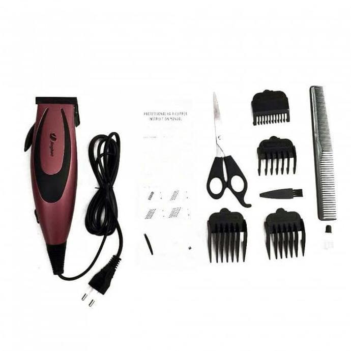 Mesin Alat Cukur Rambut Listrik Terbaik Happy King Hk-900 Putih - Potong Pangkas Hair