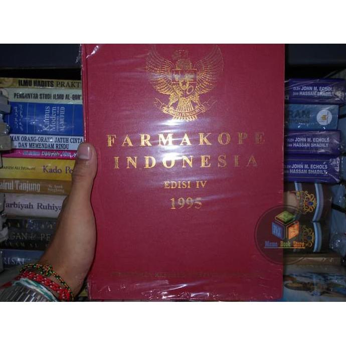 Buku Farmakope Indonesia Edisi Keempat &#40- ke 3 / IV &#41- Tahun 1995 | Shopee Indonesia