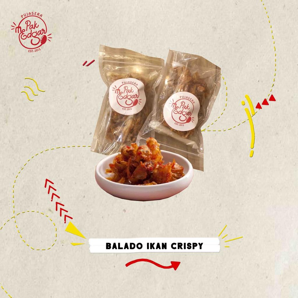 Balado Ikan Crispy Per Pack Lauk Siap Saji Shopee Indonesia