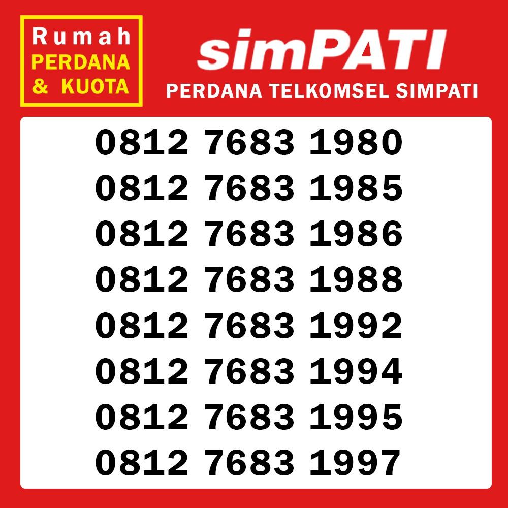 Perdana nomor cantik Telkomsel Simpati 0813 3636 xxxx 2 | Shopee Indonesia