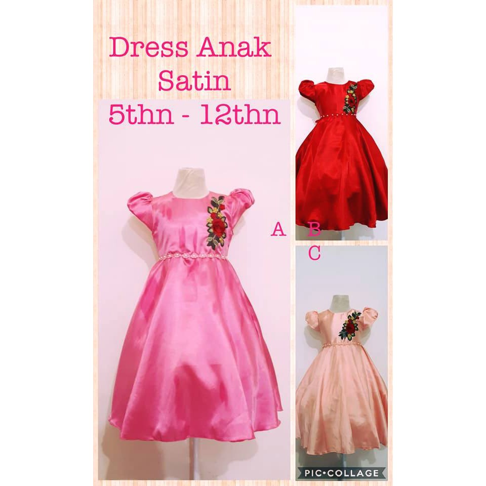 dress anak murah - baju pesta anak perempuan murah - VK75DJBK - Dress japan  brukat fit 2-4 thun  2e5cfb7ee4