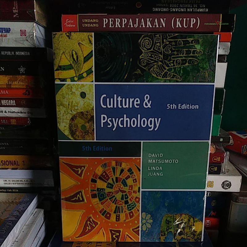 Culture Dan Psychology 5th Edition David Matsumoto Linda Juang Shopee Indonesia