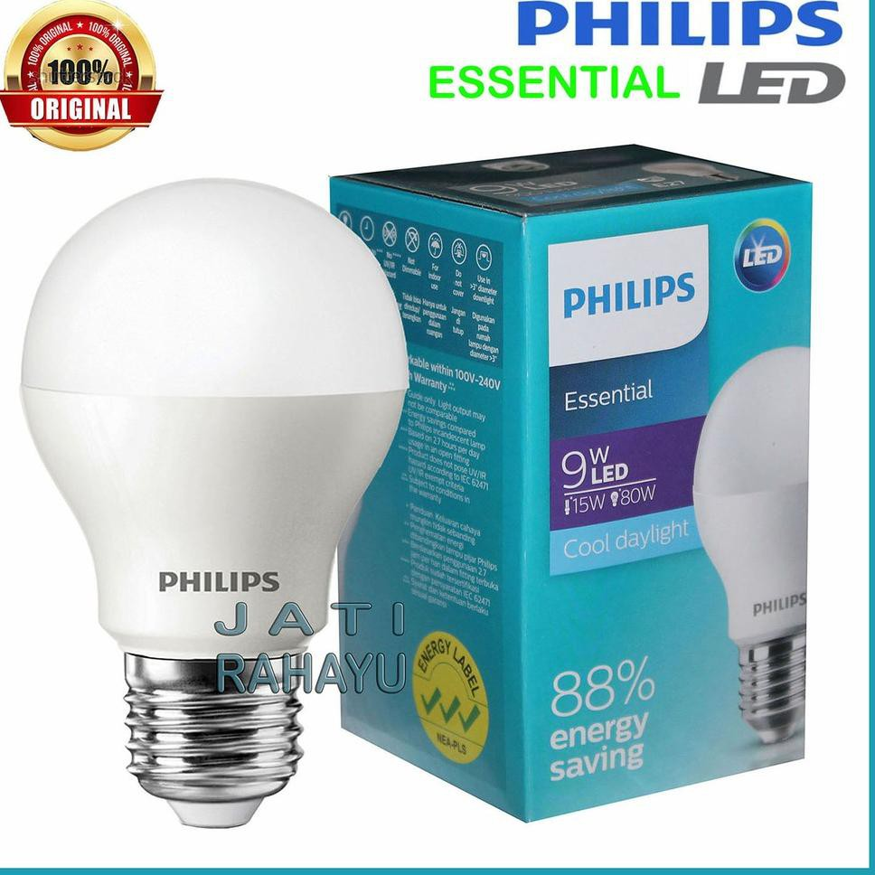 Philips Lampu Led Essential 9w 9 Watt Putih Cool Daylight Kode 5567 Shopee Indonesia
