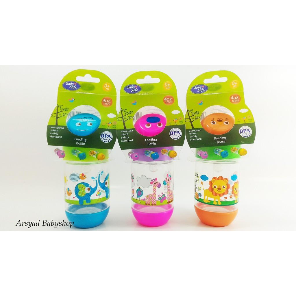 Jessenbabyshop Botol Susu Baby Safe Ap001 Slim Neck Character 125ml Feeding Bottle Dot Bayi Regular Shopee Indonesia