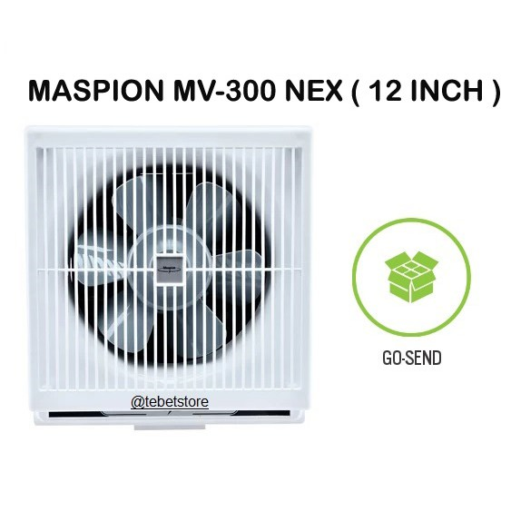 "Maspion Kipas Angin Hisap Exhaust Fan 12"" MV300NEX MV 300 NEX 