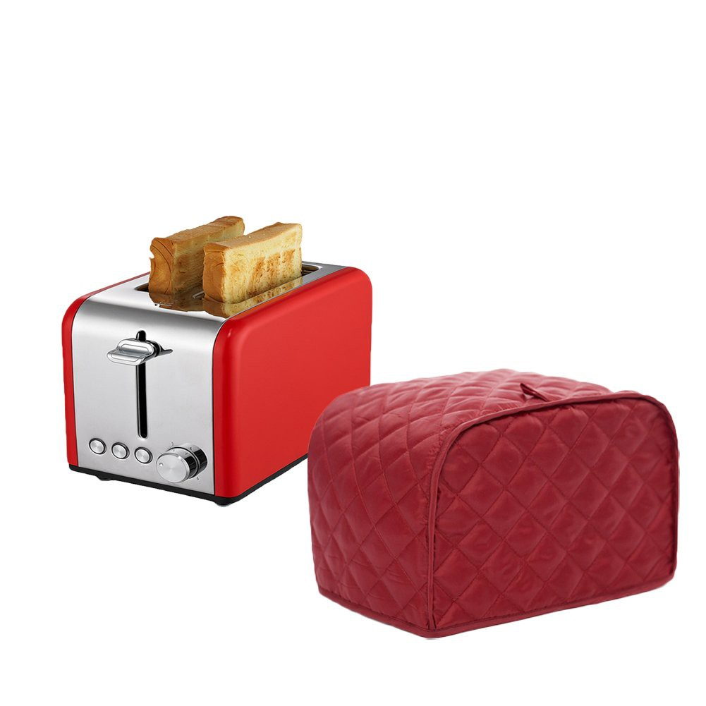 2 Slice Toaster Cover Kitchen Small Appliance Cover Universal Size Microwave Oven Dustproof Cover Shopee Indonesia