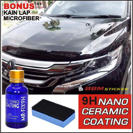 Nano Ceramic Coating Paint Protection 9h Mr Fix Pengkilap Mobil Motor Alternatif Scuto Shopee Indonesia