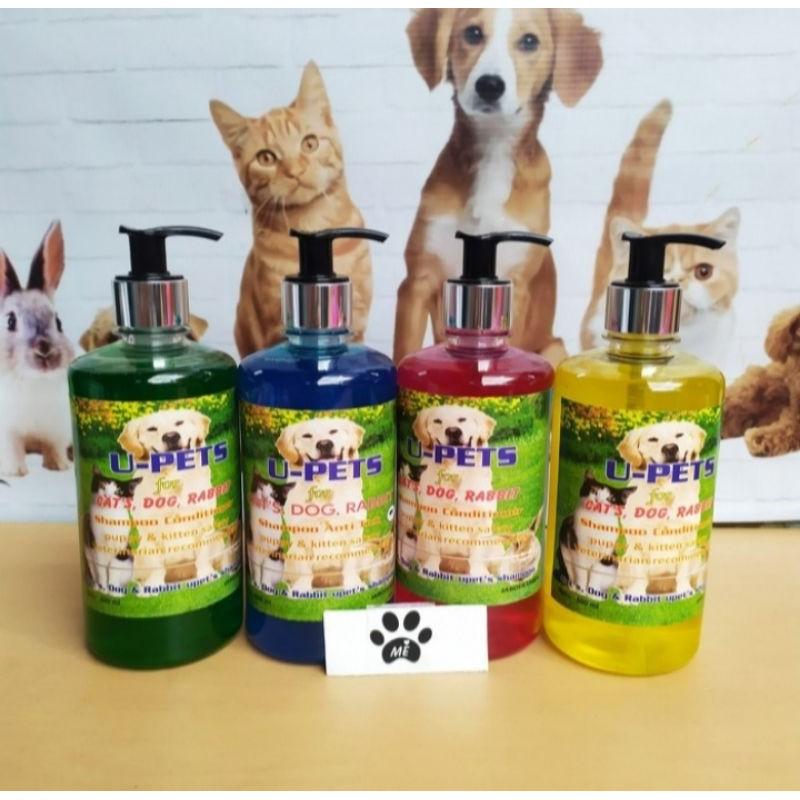 Shampo Kucing Anjing SHAMPO PLUS KONDITIONER 500ML-1