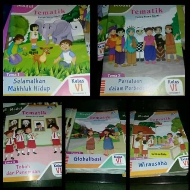 Lks Tematik Kelas 5 Tema 1 2 3 4 5 5 Buku Plus Kunci Jawaban Shopee Indonesia