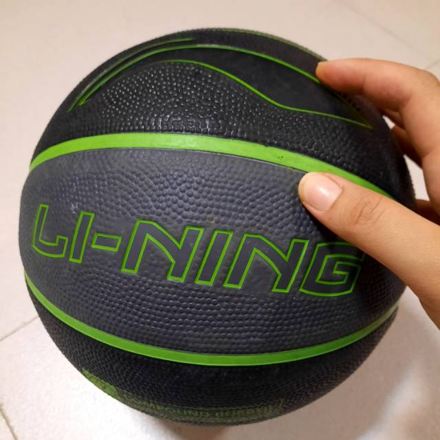 Bola basket lining outdoor