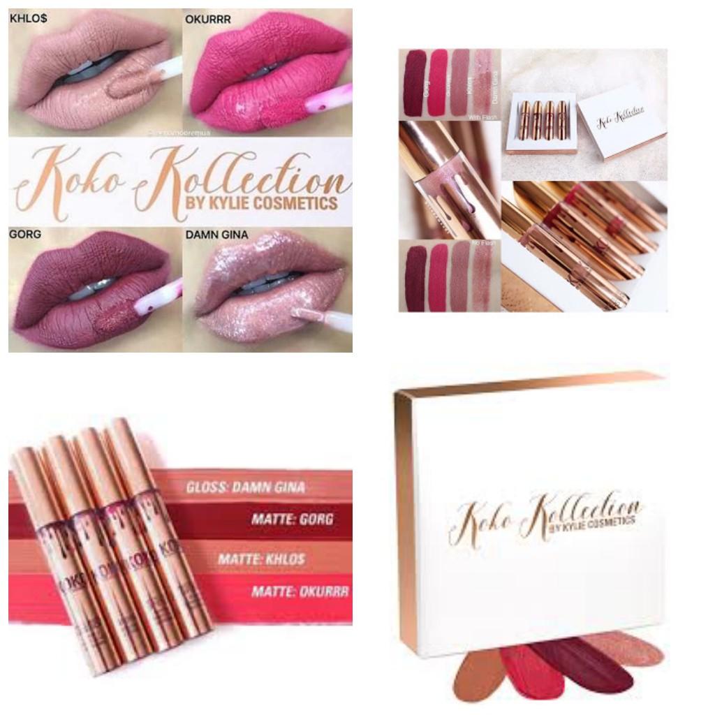 Kylie Send Me More Nudes Liptint Shopee Indonesia Lipstik